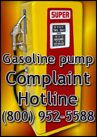 Gas Pump Complaint Hotline